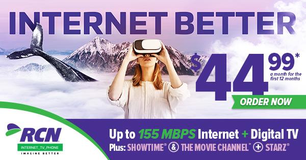 DIGITAL RCN Telecom  Display Network Integrated Digital Display Advertising